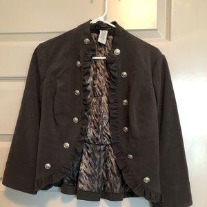 Apostrophe Gray Suit Jacket/Blazer- Size S